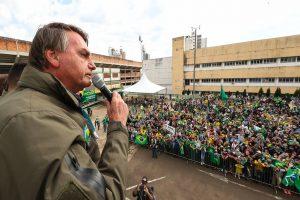 Bolsonaro em Chapecó (SC)